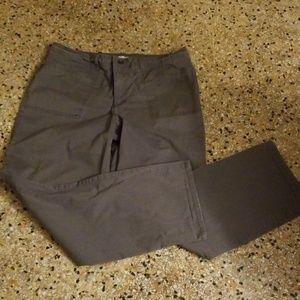 Pants gray work pants